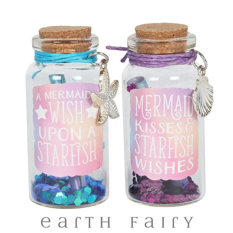 Mermaid Wishing Jar, from The Fairy Dust Collection by Earth Fairy