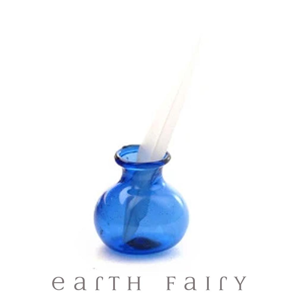 Miniature Ink Pot & Quill, from The Fairy Garden & Dollhouse Collection by Earth Fairy