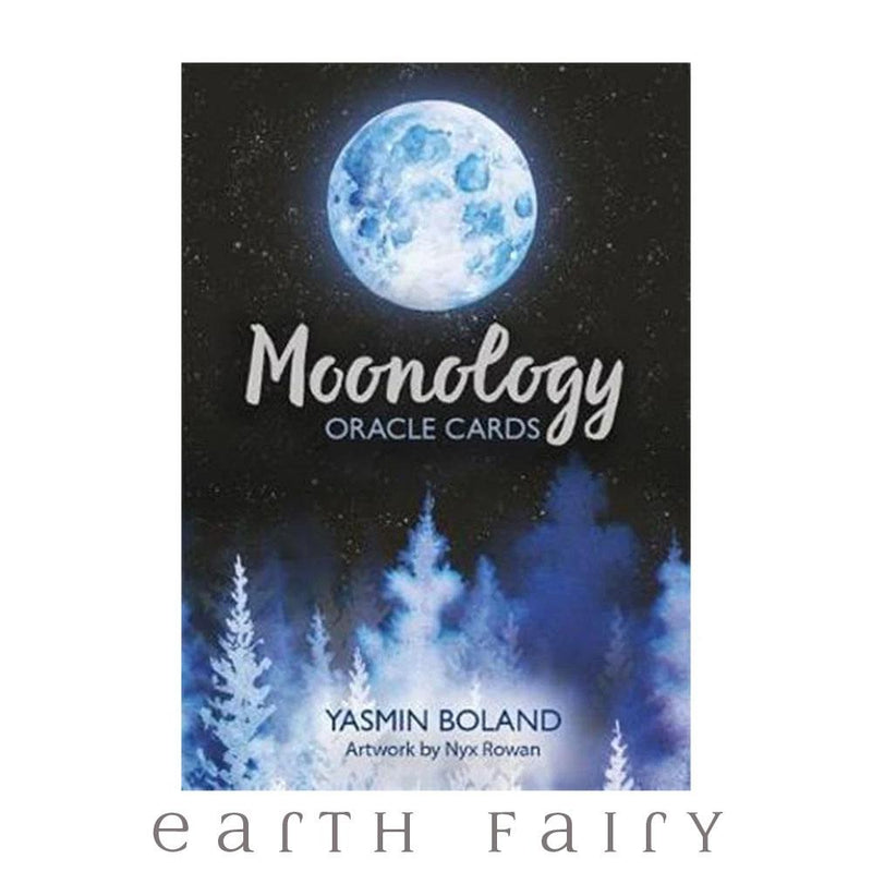 Moonology Oracle Cards by Yasmin Boland | Fairy, Tarot & Oracle Cards - Australia | Earth Fairy