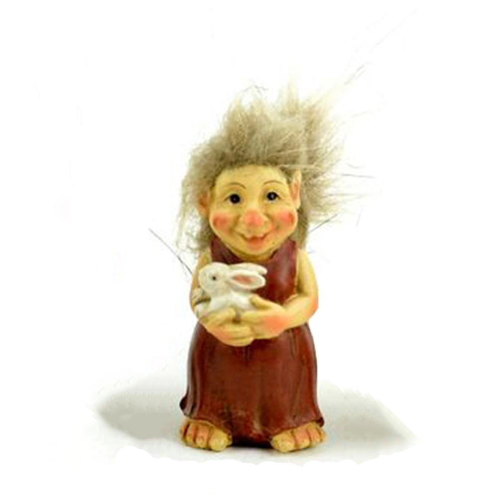 Mother Troll from The Miniature Fairy Garden Troll Collection from Earth Fairy