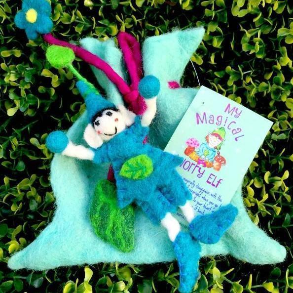 Fairy Play My Magical Worry Elf Earth Fairy