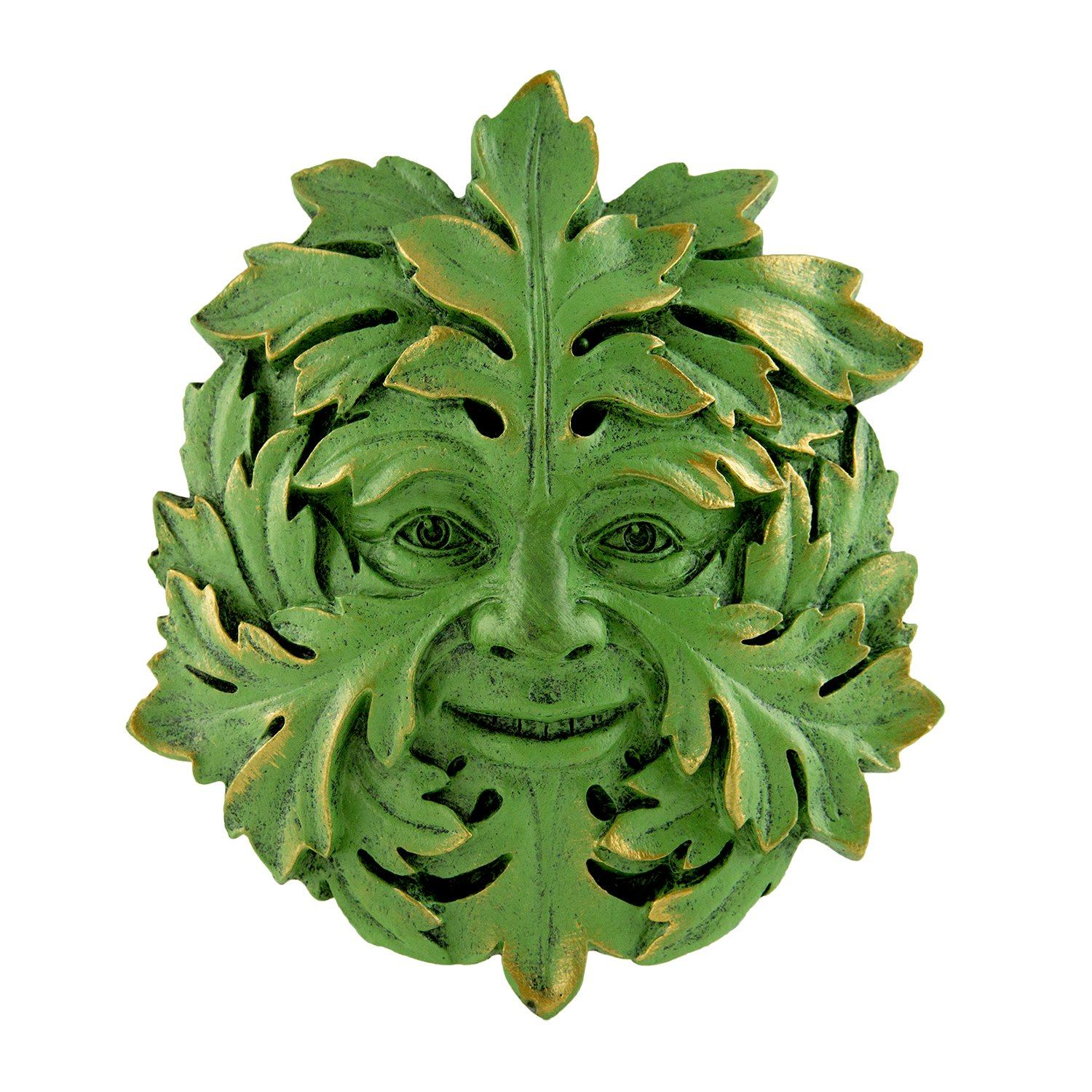 Mystic Greenman Wall Plaque | Fairy Gifts & Decor | Earth Fairy