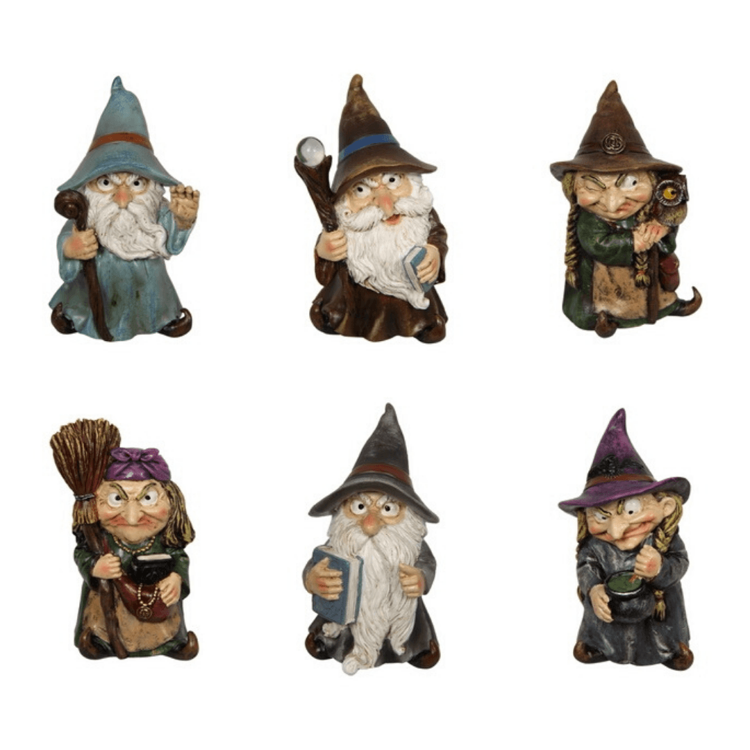 Mystic Witch and Wizard - Set of Two