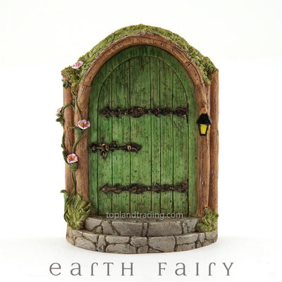 Mystical Green Fairy Door | Fairy Garden Doors & Windows - Australia | Earth Fairy