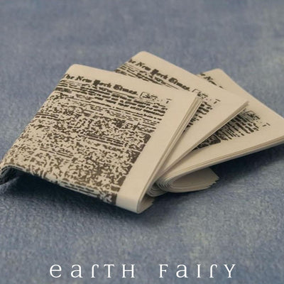 Newspapers | Fairy Garden Miniatures - Australia | Earth Fairy
