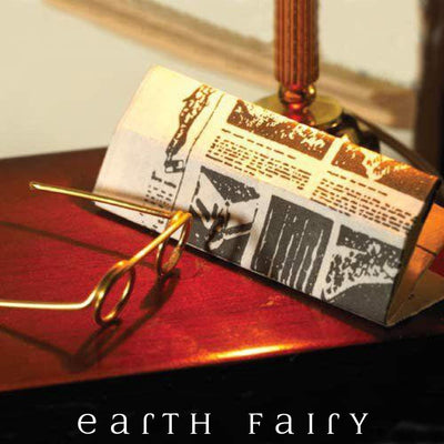 Newspaper & Spectacle Set | Fairy Garden Miniatures - Australia | Earth Fairy