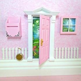 Fairy Doors Opening Fairy Door Starter Set Pink (Sweetheart Style) Earth Fairy