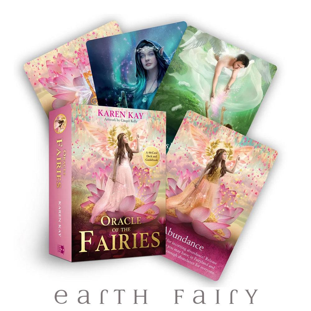 Oracle of the Fairies | Fairy Oracle, Tarot & Affirmation Cards - Australia | Earth Fairy
