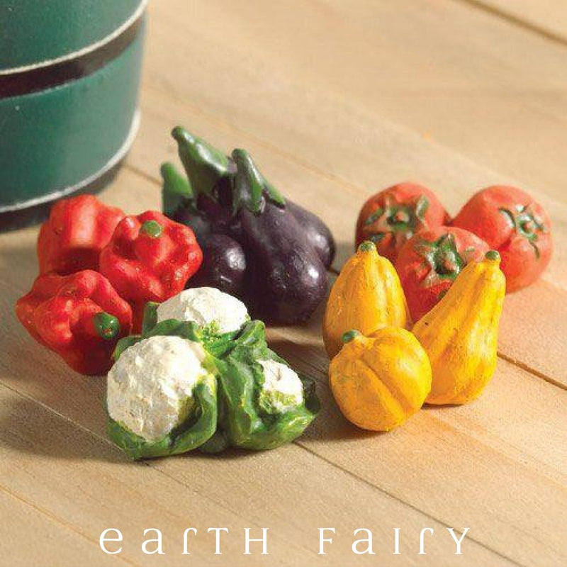 Pack of 5 Vegetables, from The Miniature Fairy Garden Accessory Collection by Earth Fairy