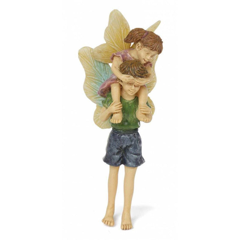 Piggyback Ride Earth Fairy