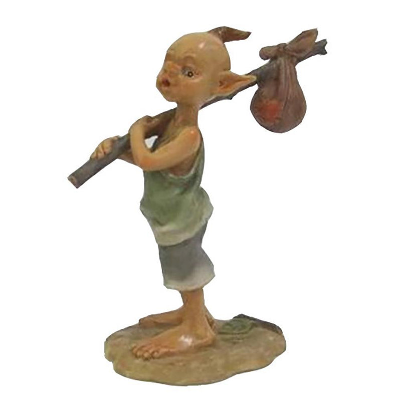 Pixie Carrying a Sack | Fairy Garden Figurines - Australia | Earth Fairy