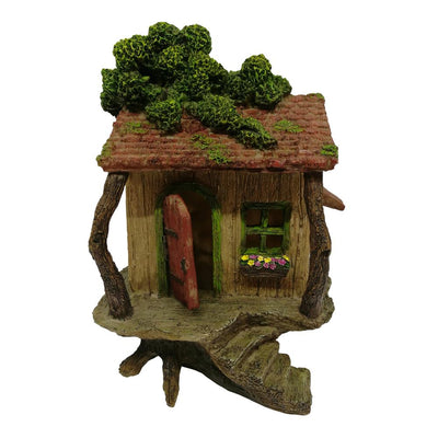 Craggy Tree Cottage with Opening Door | Fairy Houses - Australia | Earth Fairy