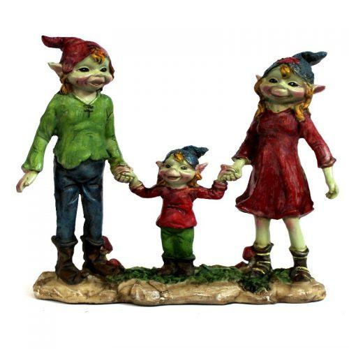 Pixie Family | Fairy Garden Figurines - Australia | Earth Fairy
