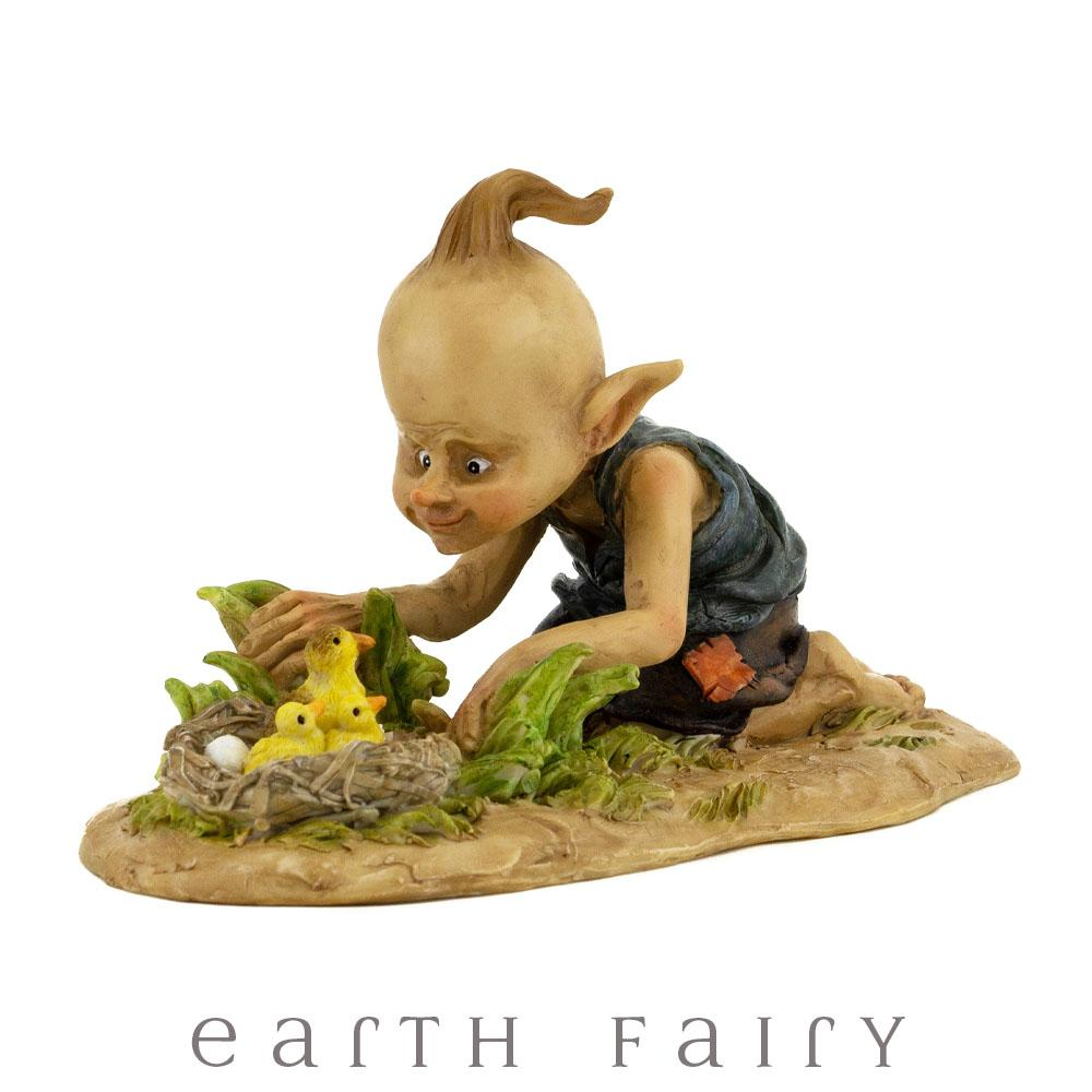 Pixie with Ducklings | Fairy Garden Miniatures & Collectibles - Australia | Earth Fairy