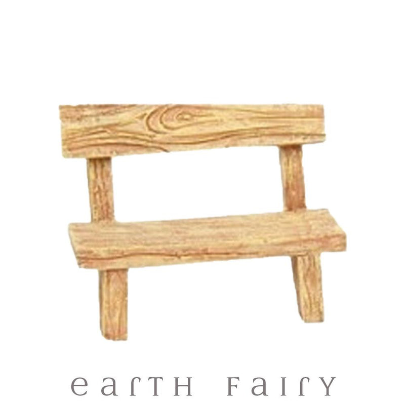 Plank Bench from The Fairy Garden Furniture Collection by Earth Fairy
