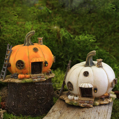 Pumpkin Fairy House - Mini | Fairy Houses - Other Abodes | Earth Fairy