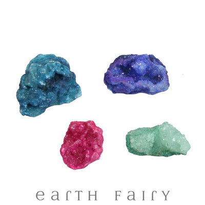 Rainbow Geodes from The Crystal Collection by Earth Fairy