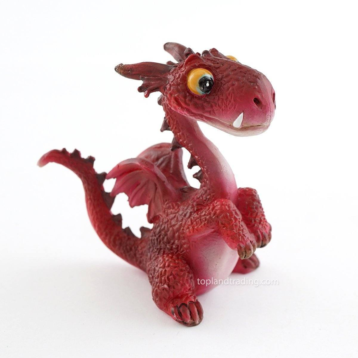 Fairy Gardens Red Dragon Earth Fairy