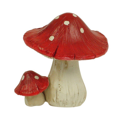 Fairy Gardens Red Mushroom - 5cm Cluster of Two Earth Fairy