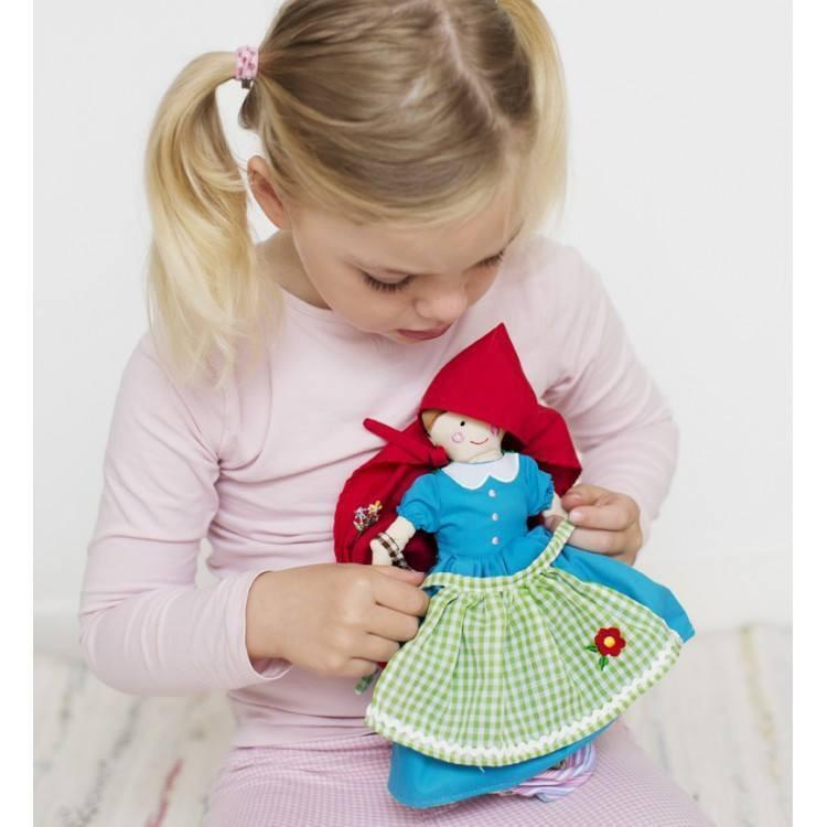 Fairy Play Red Riding Hood Reversible Story Doll Earth Fairy