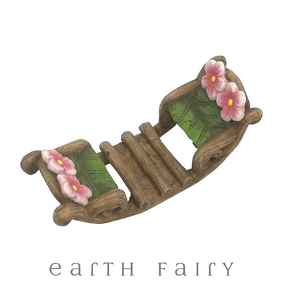 Rocking Boat - Overhead View | Fairy Garden Miniatures - Australia | Earth Fairy