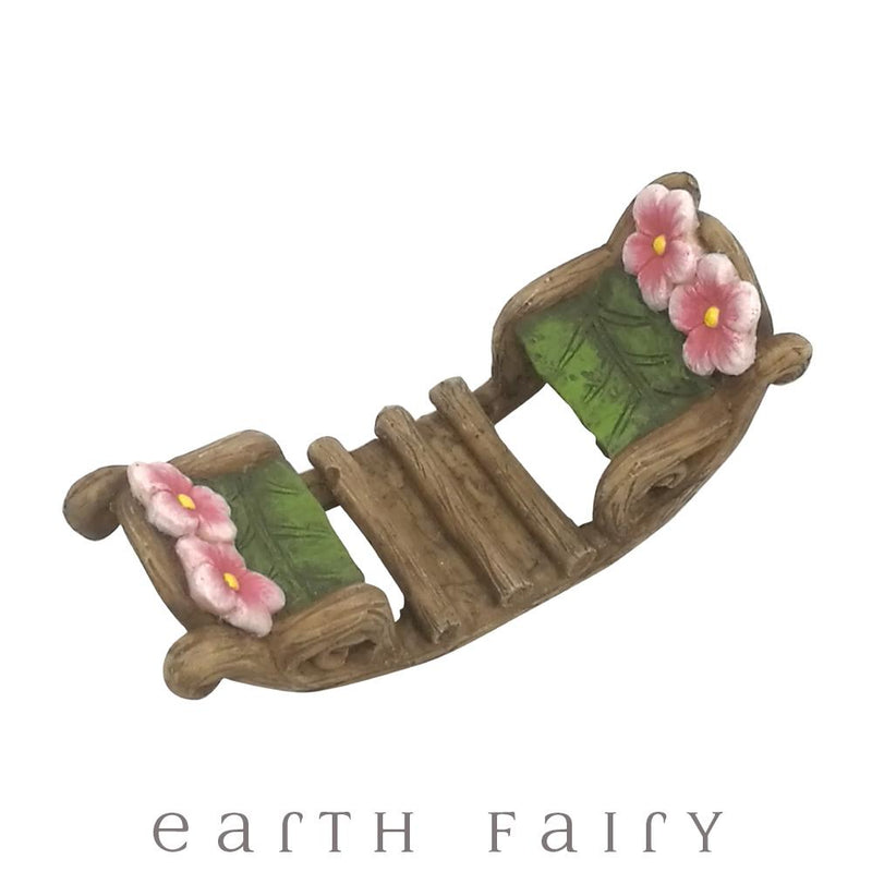 Rocking Boat | Fairy Garden Miniatures - Australia | Earth Fairy