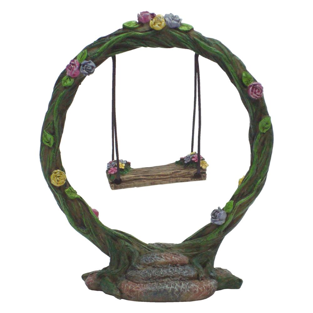 Round Arbour Swing | Fairy Garden Accessories - Australia | Earth Fairy