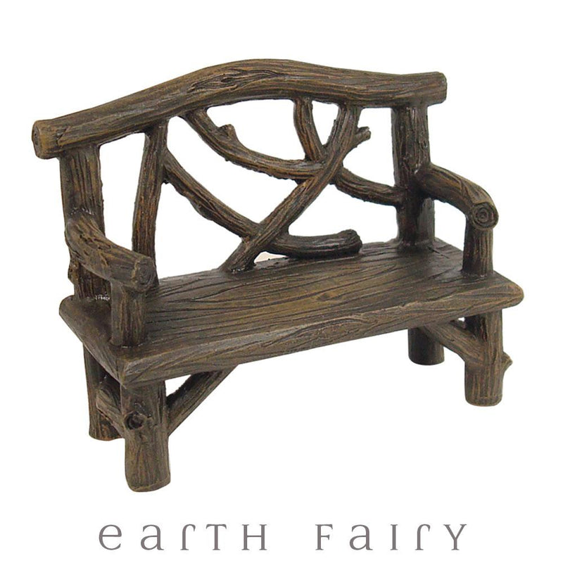 Rustic Log Furniture Set | Fairy Gardens - Australia | Earth Fairy