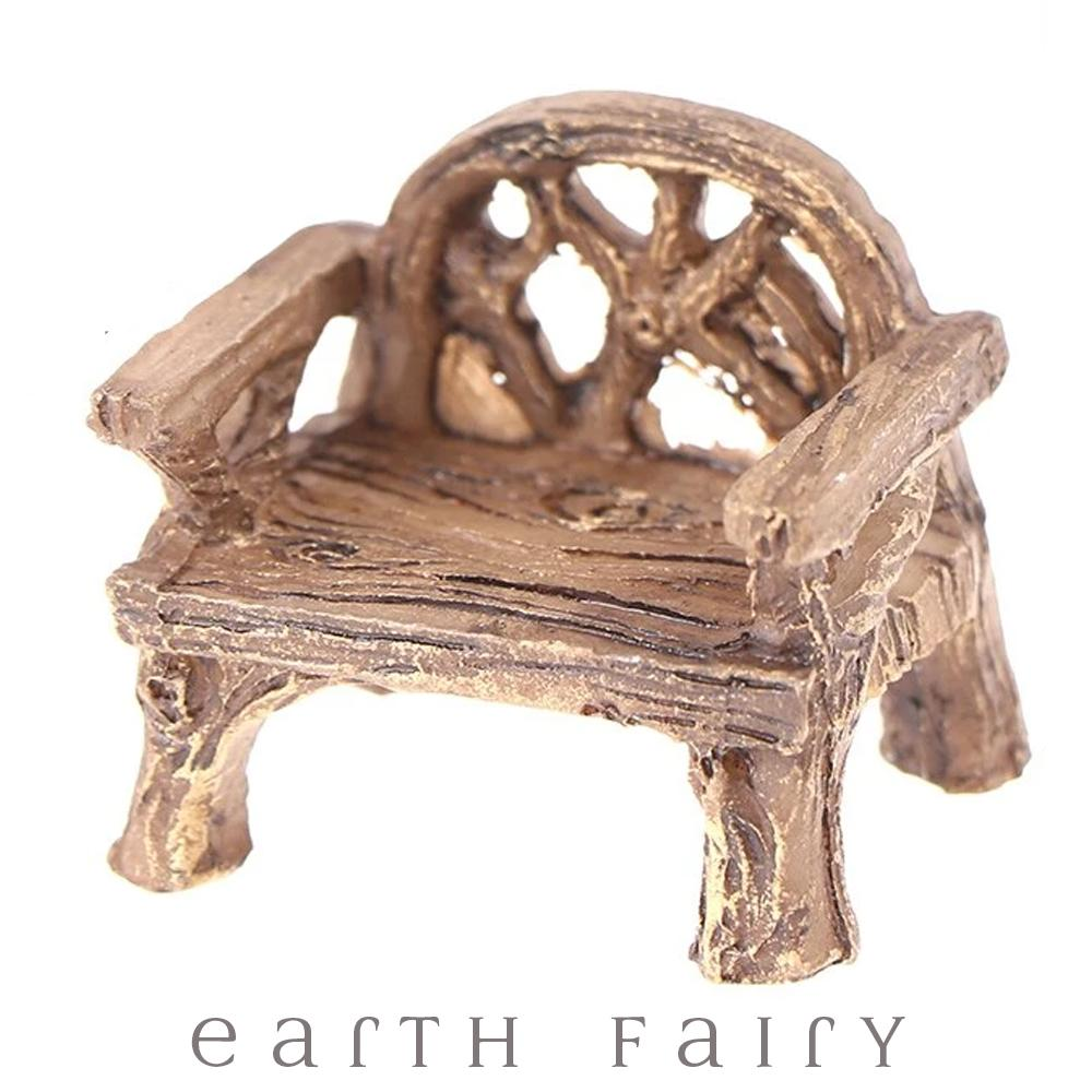 Rustic Vine Chair, from The Miniature Fairy Garden Furniture Collection by Earth Fairy