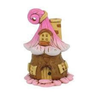 Fairy Houses Seed Pod Fairy House - Micro Pink Earth Fairy