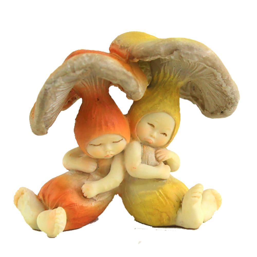 Shroom Babies Sleeping | Fairy Garden Figurines - Australia | Earth Fairy