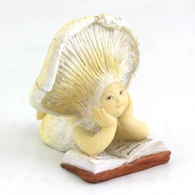 Shroom Baby Reading | Fairy Garden Figurines - Australia | Earth Fairy