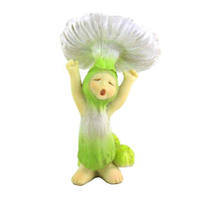 Shroom Baby Yawning | Fairy Garden Figurines - Australia | Earth Fairy