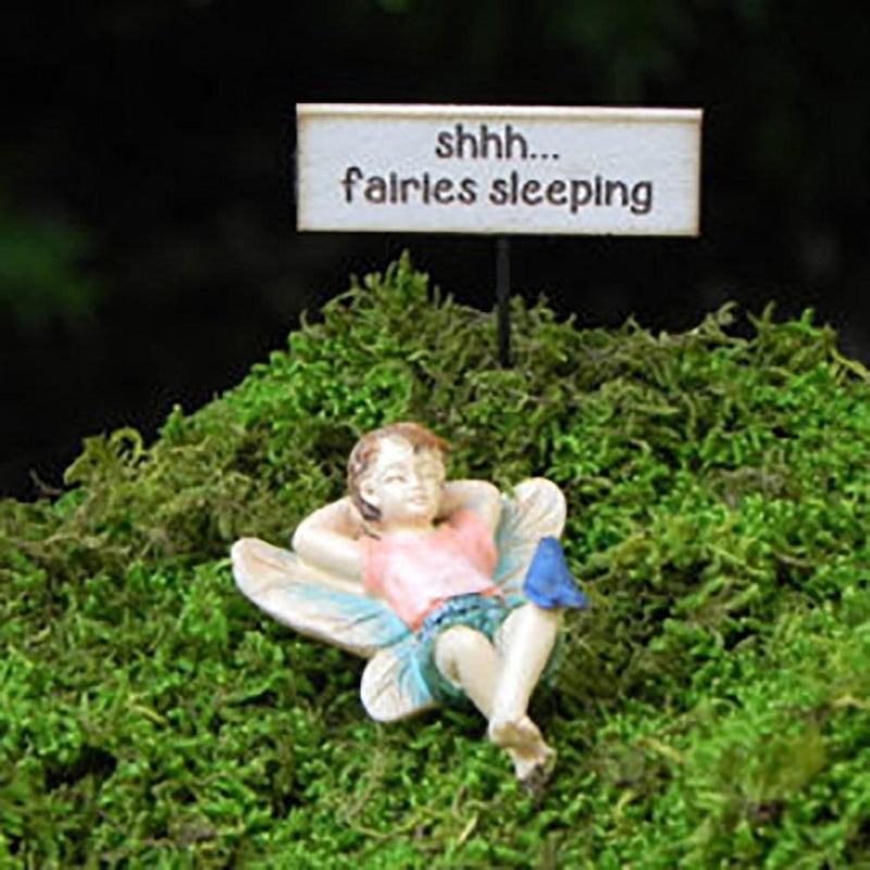 Fairies & Friends Sleeping Boy Earth Fairy