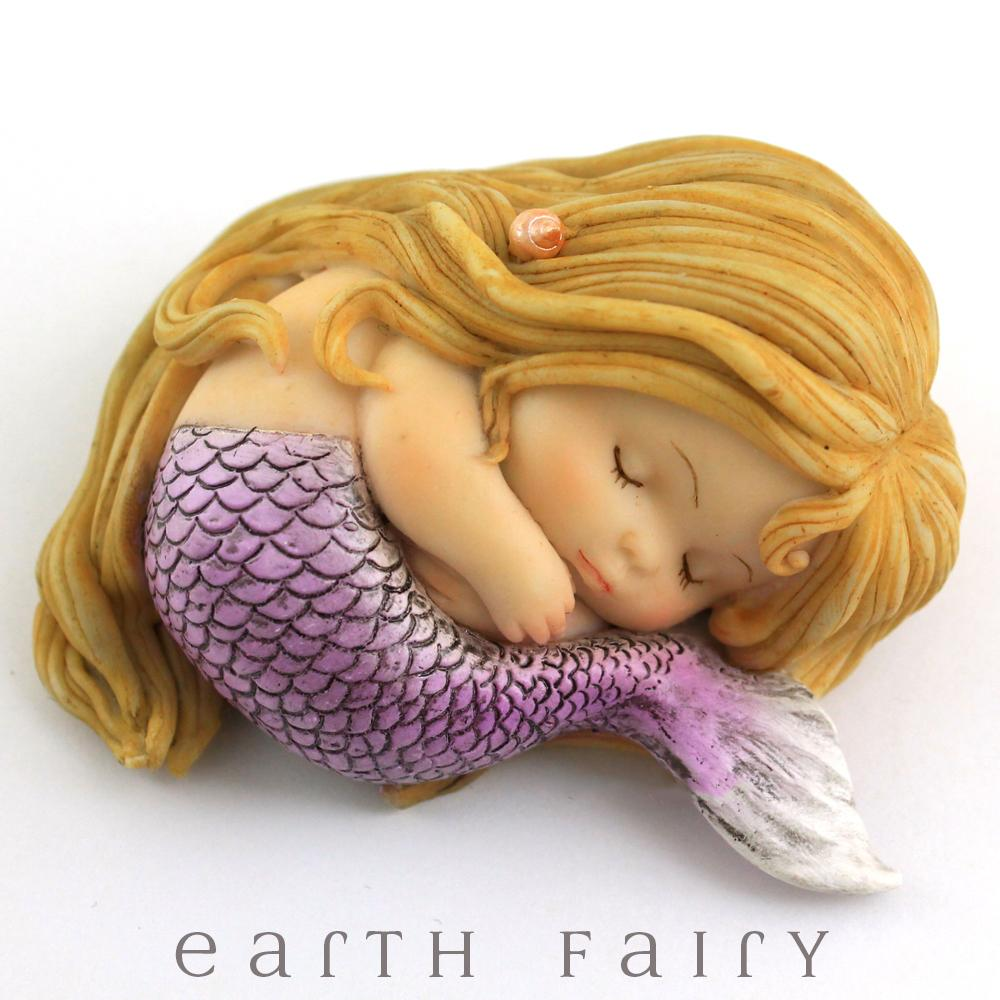 Sleeping Little Mermaid, from The Miniature Mermaid Collection by Earth Fairy