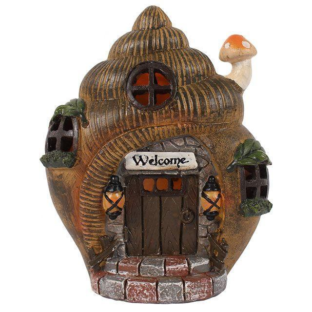 Fairy Houses Snail Shell Fairy House Earth Fairy