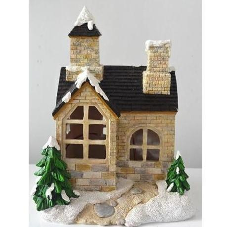 Snowfall Solar Fairy House