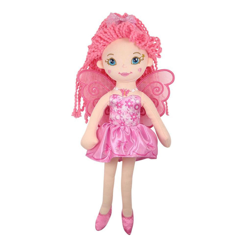 Fairy Play - Soft Fairy Doll - Rose - Earth Fairy