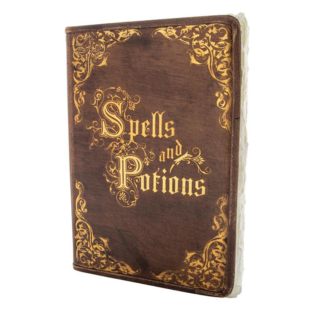 Spells & Potions Leather Journal | Fairy Inspired Gifts & Decor - Australia | Earth Fairy