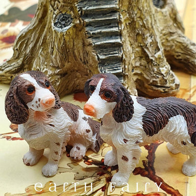 Springer Spaniel - Set of 2 | Fairy Pets & Animals - Australia | Earth Fairy