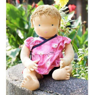 Fairy Play Steiner Waldorf Little Girl Doll (45cm) Earth Fairy