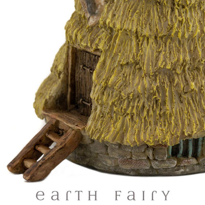 Straw Windmill - Micro | Fairy Garden Miniatures & Collectibles - Australia | Earth Fairy