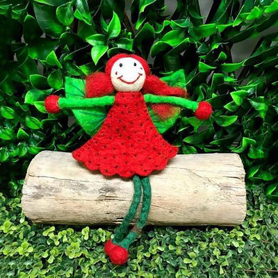 Strawberry Faery - Large | Fairy Play - Australia | Earth Fairy