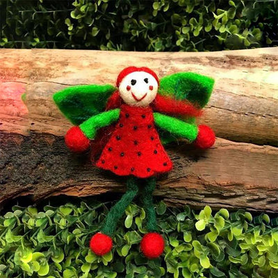 Strawberry Faery - Small | Fairy Play - Australia | Earth Fairy
