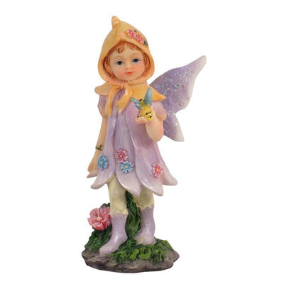 Fairies & Friends Sugar Plum Fairies - Standing Lavender Earth Fairy