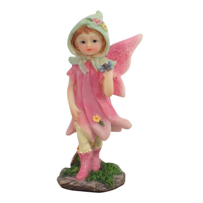 Fairies & Friends Sugar Plum Fairies - Standing Pink Earth Fairy