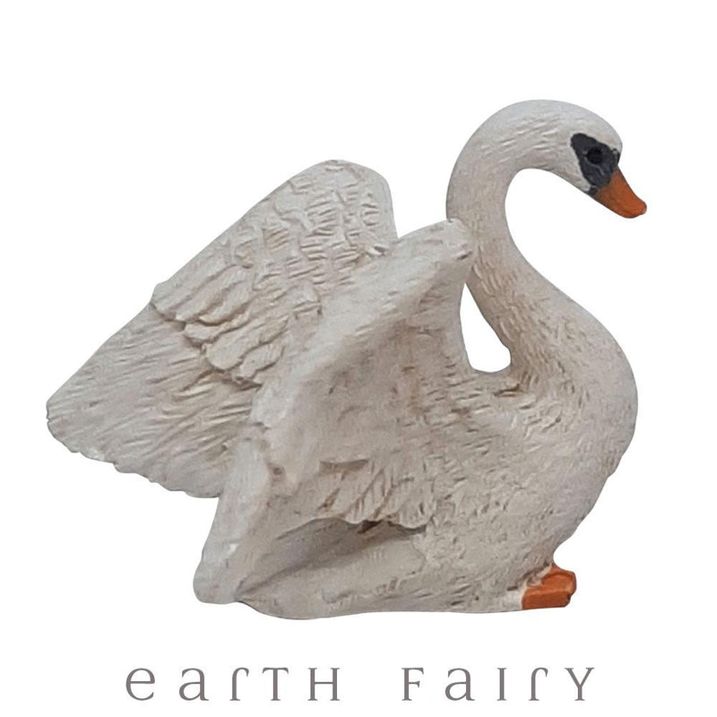 Swan from The Willow Fairy Garden Collection by Earth Fairy