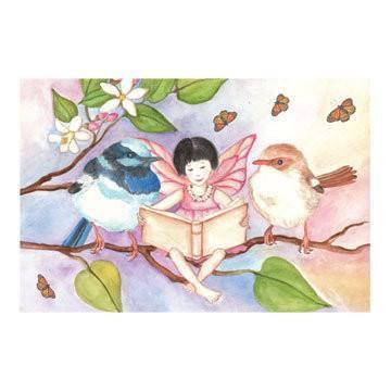 Room Accents Sweet Fairy & Wrens Music Box Earth Fairy