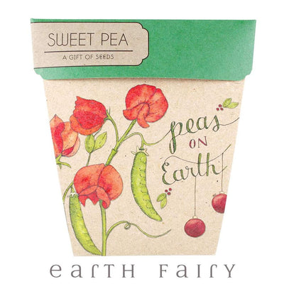 Sweet Pea - Peas on Earth - Gift of Seeds | Fairy Books & Stationery | Earth Fairy