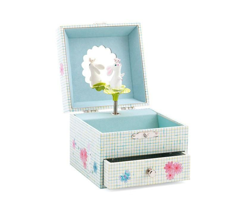 Room Accents Sweet Rabbits Song Music Box Earth Fairy